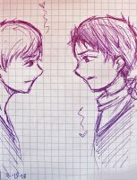 Merthur Sketch by MoPotter