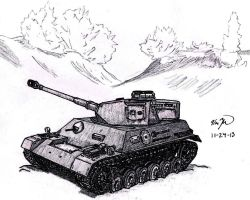 Panzer III/IV by TimSlorsky