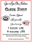 OAC - Casino Night Advert by Nessarie