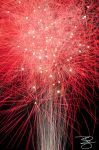 Red Fireworks by braxtonds