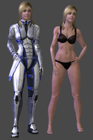 Liara Human (Blonde) DL by TheRaiderInside
