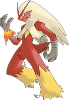 Blaziken by Xous54