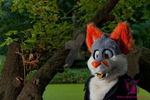 Slushie the Fox by FurryFursuitMaker