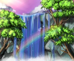 WaterFall by DarkVow