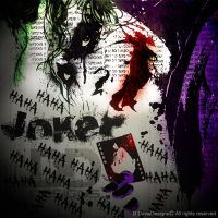 The Joker illustration design by DDavis93