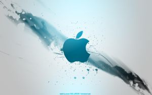 Apple Logo Wallpaper by pR0X0R by pR0X0R