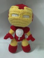 Iron man sackboy by NVkatherine