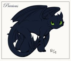 :Precious Little Night Fury: by Sparkle-And-Sunshine