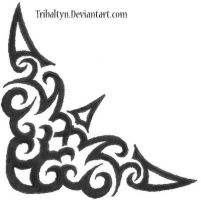 tribal: corner design by tribaltyn