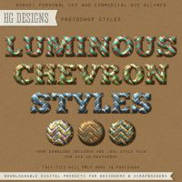 PS Style: Luminous Chevron by HGGraphicDesigns
