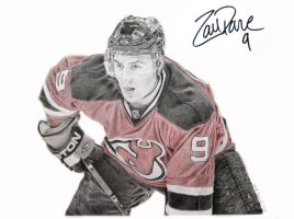 Zach Parise by MarkosTheGreat