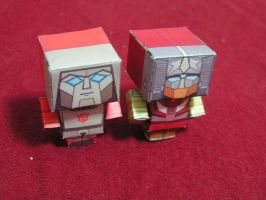 Windcharger and Chromedome by aim11