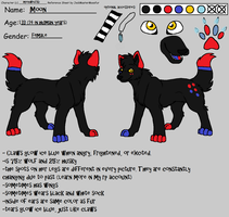 Moon reference sheet by steampuff