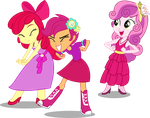 EG Cutie mark Crusaders by Vector-Brony