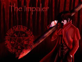 The Impaler - Wallpaper by tchintchie