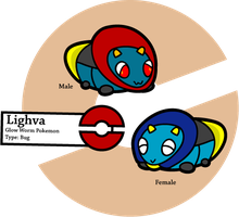 Fake Pokemon: Lighva by Sageroot