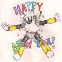 Have a Wily New Year by TheGloriesBigJ