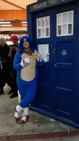 sonic in doctor who! by Spikinette