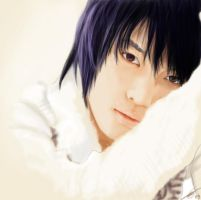 white Jaejoong by mad-Joker
