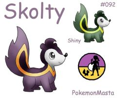 Skolty 092 by PokemonMasta