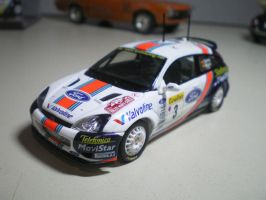 Ford Focus Rally by evandrominiaturas