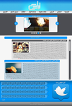 Arabic Web Layout by Cesc-X