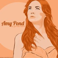 Doctor Who - Amy Pond by latingxix