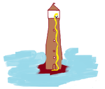 Celegorm Lighthouse by StrawberryJam1313