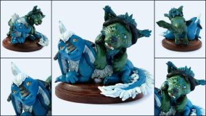 Melde and Pwykka Sculpture by LeiliaClay