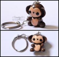 Little Monkey Key Chain. by Evazgar