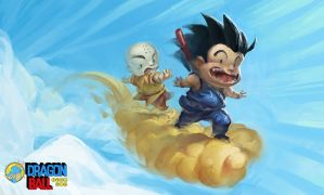 Hold On Krillin! by matt-radway