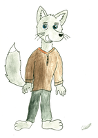 Craig the Gray Fox by CobaltBrony