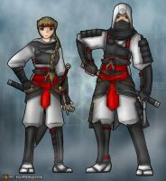 Assassins Creed  - Master and Apprentice by Diyaru4500