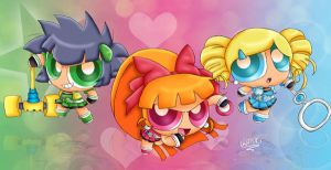 Demashitaa! PowerPuff Girls Z! by WingedPPG