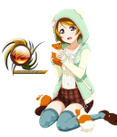 (Request) Love live - Hanayo cute render by sharknex