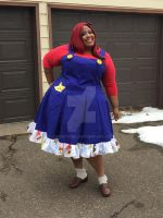 Mario Dress by snowtigra