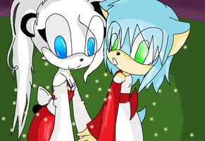 Hedgehogs and Pandas by sonicfan5654