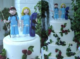 Wedding Cake Topper 5 by Rook-XIII