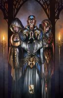 Triumvirate by scarypet