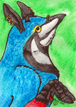 Keet ACEO by TornFeathers