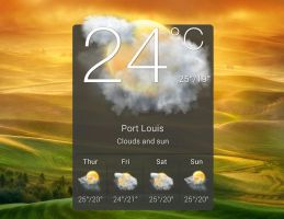 HTC Hero Widget HD for xwidget by jimking