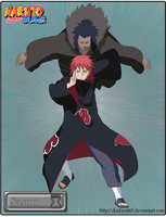 Sasori And 3rd kazekage puppet by Deidara465