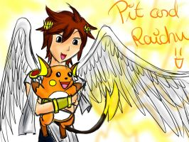 Pit and Pikachu's evolution by NorbiDKeks