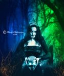 lady of darkness by fadlie666