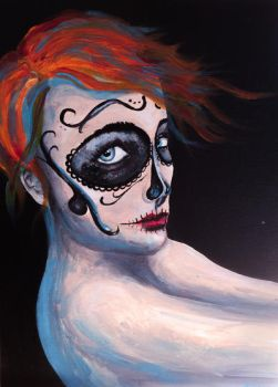 Day of the dead by Chemie-Chan