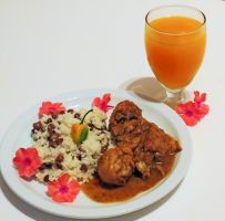 Jamaican Curry Chicken by Kitteh-Pawz