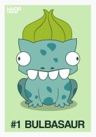 001 Bulbasaur by hiugo