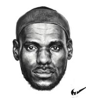 Lebron James by jiangming