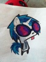 vinyl scratch as GIR by totalKaOs9
