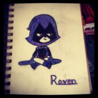 Teen Titans GO! Raven by JediSkygirl